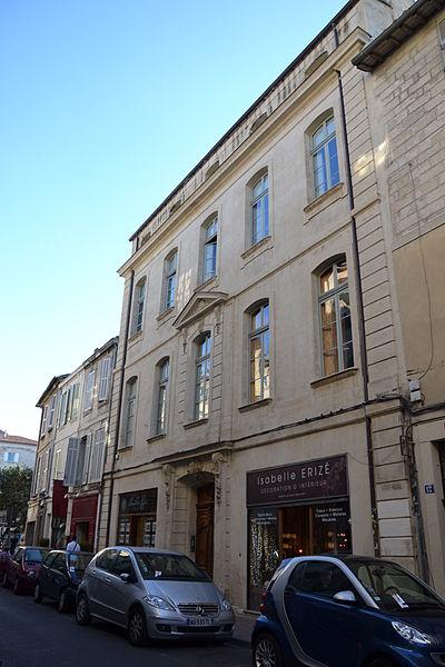 Photo du Monument Historique Hôtel de Luynes situé à Avignon