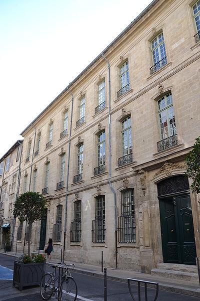 Photo du Monument Historique Hôtel de Monery ou de Saint-Priest situé à Avignon