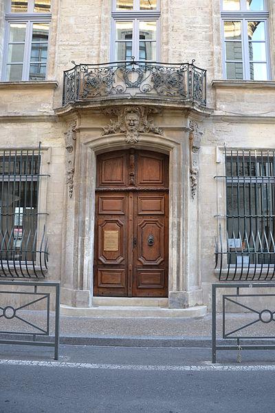 Photo du Monument Historique Hôtel de Rochegude situé à Avignon