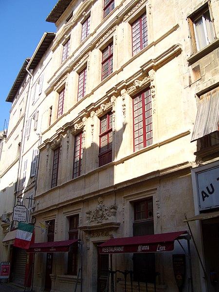 Photo du Monument Historique Hôtel de Salvati-Palasse situé à Avignon