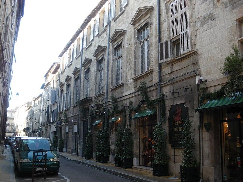 Photo du Monument Historique Hôtel Fonduty de Malijac situé à Avignon