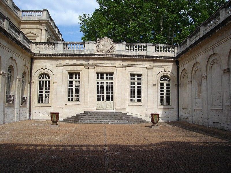 Photo du Monument Historique Hôtel de Villeneuve-Martignan situé à Avignon