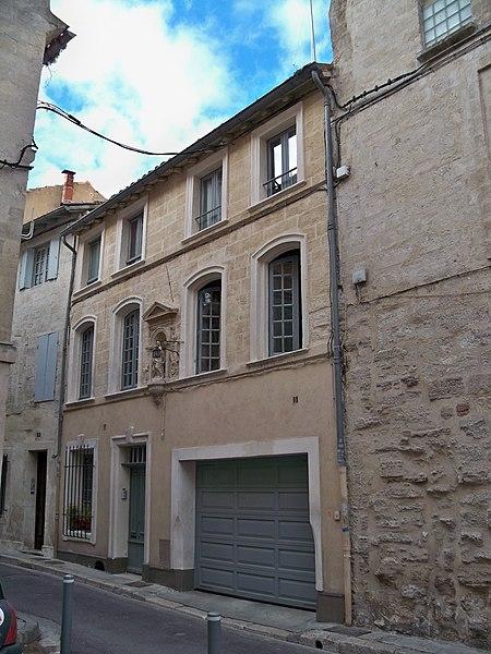 Photo du Monument Historique Maison situé à Avignon