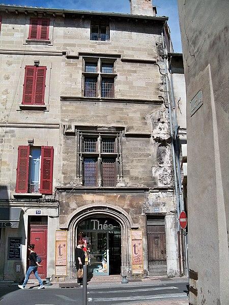 Photo du Monument Historique Maison de Forli, dite de la Reine Jeanne situé à Avignon