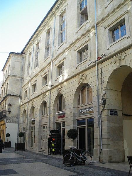 Photo du Monument Historique Marché de Franque situé à Avignon