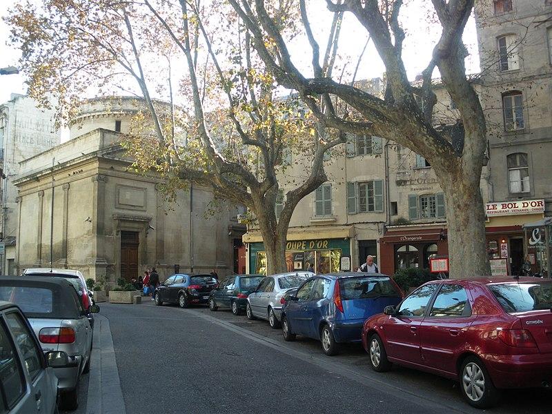 Photo du Monument Historique Synagogue situé à Avignon