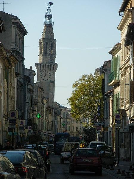Photo du Monument Historique Tour des Augustins situé à Avignon