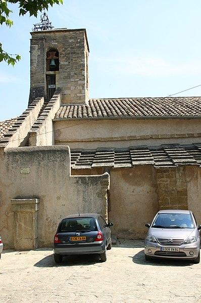 Photo du Monument Historique Eglise situé à Le Barroux