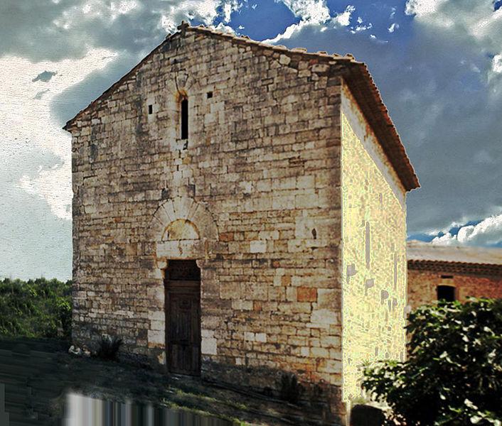 Photo du Monument Historique Chapelle Notre-Dame de la Cavalerie de Limaye situé à Bastide-des-Jourdans (La)