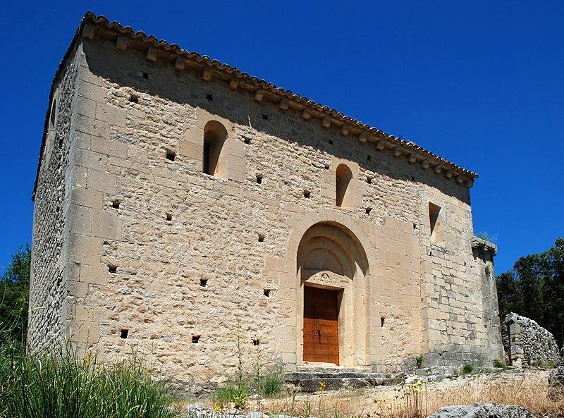 Photo du Monument Historique Chapelle du Saint-Sépulcre situé à Beaumont-du-Ventoux
