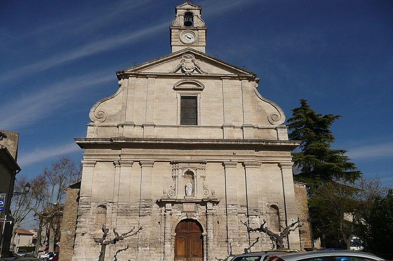 Photo du Monument Historique Eglise paroissiale Saint-Etienne et de l'Assomption situé à Bédarrides