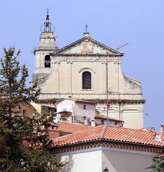 Photo du Monument Historique Eglise situé à Bédoin