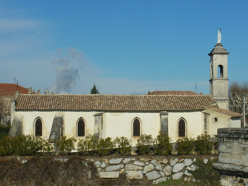 Photo du Monument Historique Chapelle Notre-Dame-du-Pont ou de Bonne-Aventure situé à Bollène