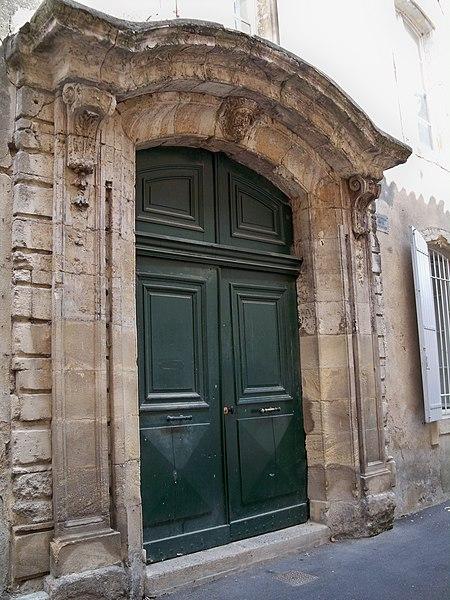 Photo du Monument Historique Hôtel d'Alauzier-Guilhermier situé à Bollène