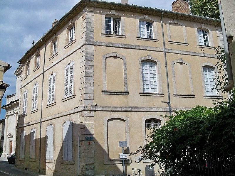 Photo du Monument Historique Hôtel de Faucher situé à Bollène
