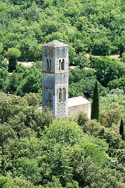 Photo du Monument Historique Prieuré de Saint-Symphorien situé à Bonnieux