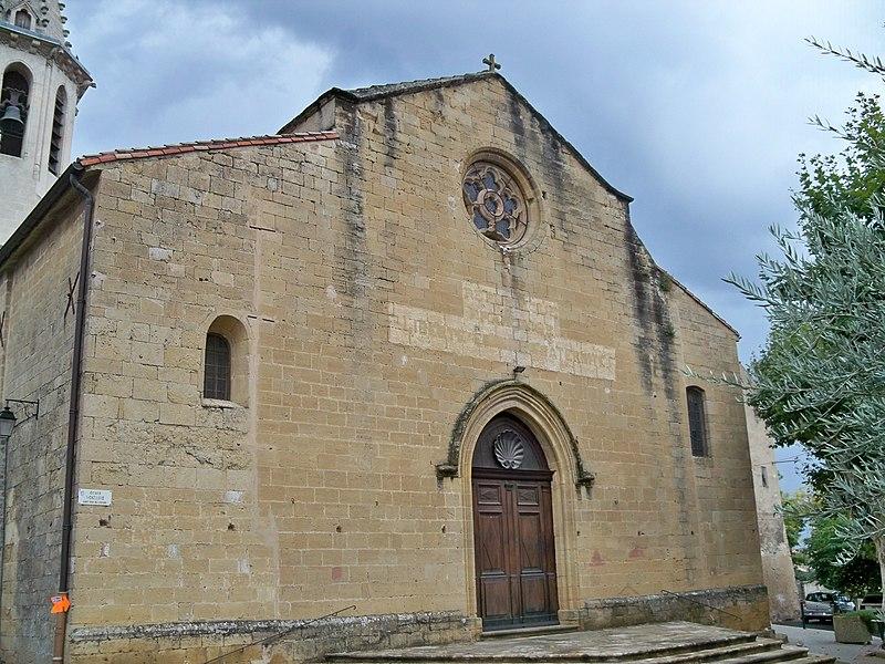 Photo du Monument Historique Eglise paroissiale Saint-Etienne et son presbytère situé à Cadenet