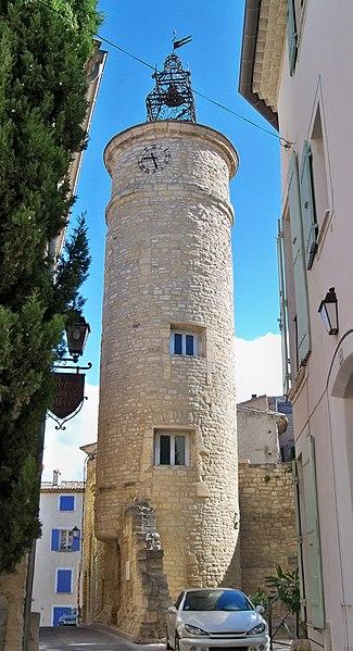Photo du Monument Historique Beffroi situé à Caromb