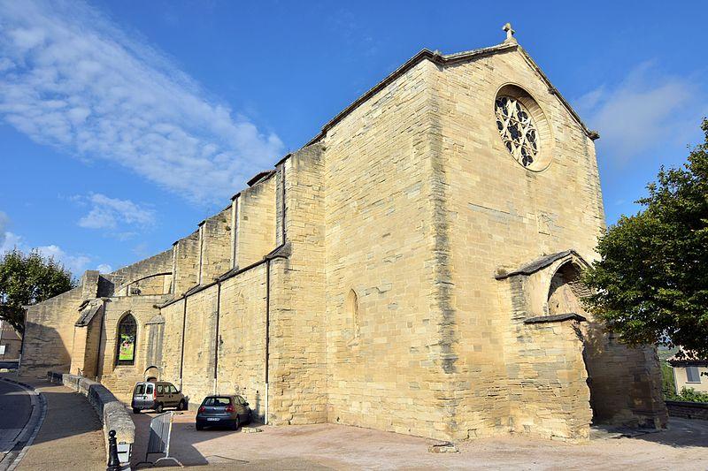 Photo du Monument Historique Eglise situé à Caromb