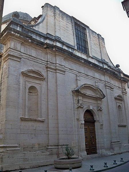 Photo du Monument Historique Collège de garçons situé à Carpentras