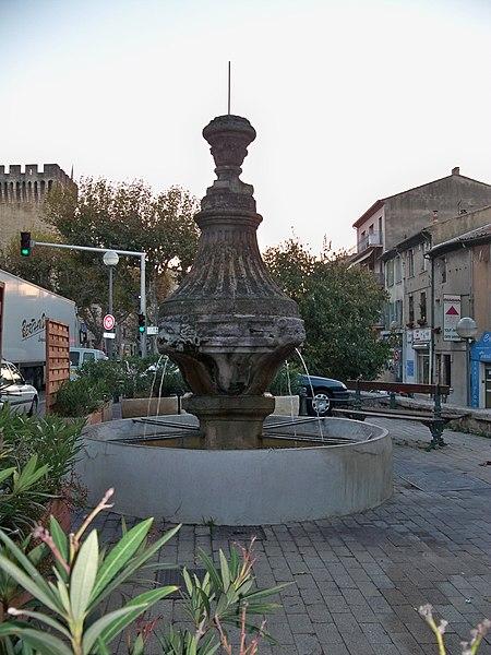 Photo du Monument Historique Fontaine situé à Carpentras