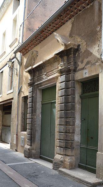 Photo du Monument Historique Hôtel Chabrol situé à Carpentras