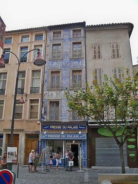 Photo du Monument Historique Immeuble situé à Carpentras
