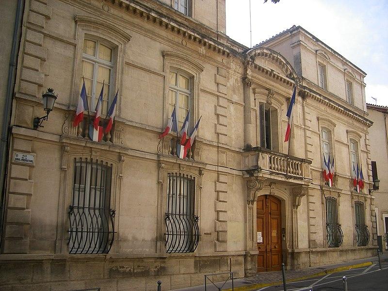 Photo du Monument Historique Sous-préfecture situé à Carpentras