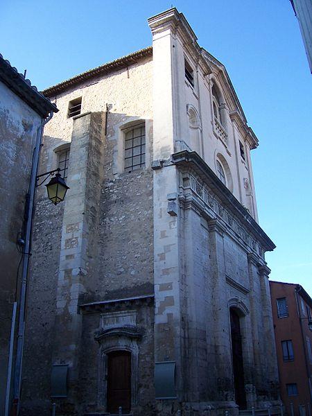 Photo du Monument Historique Chapelle Saint-Benoît situé à Cavaillon