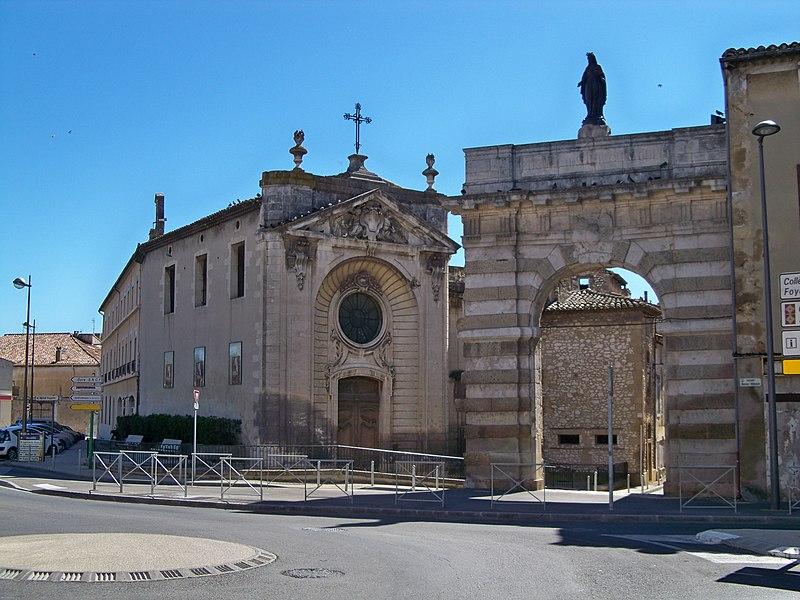 Photo du Monument Historique Ancien hôpital, actuellement musée archéologique situé à Cavaillon
