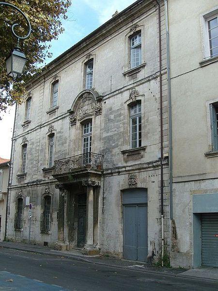 Photo du Monument Historique Hôtel de Pérussis situé à Cavaillon