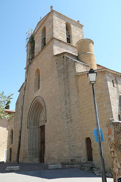 Photo du Monument Historique Eglise paroissiale Notre-Dame-de-Beaulieu situé à Cucuron