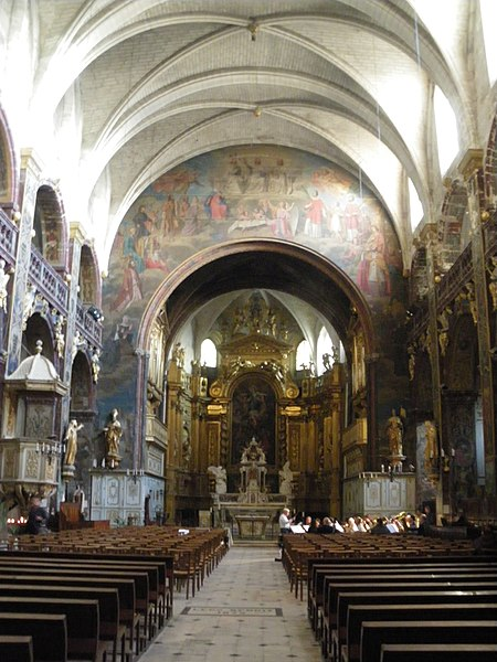 Photo du Monument Historique Eglise paroissiale Notre-Dame-des-Anges situé à L'Isle-sur-la-Sorgue