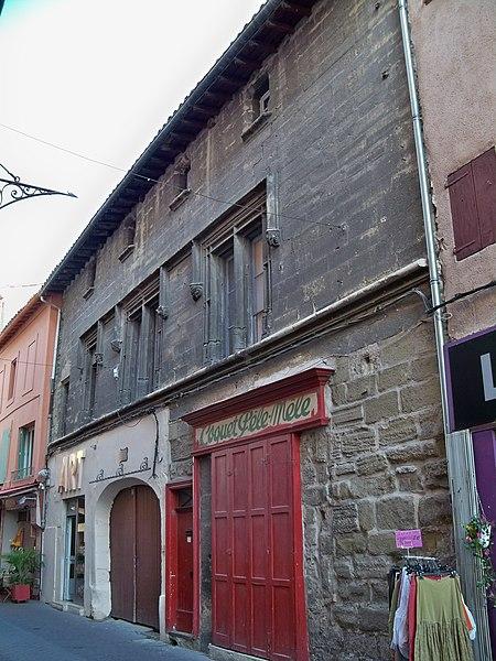 Photo du Monument Historique Immeuble situé à L'Isle-sur-la-Sorgue