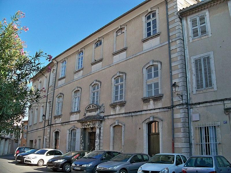 Photo du Monument Historique Immeuble situé à Isle-sur-la-Sorgue (L')