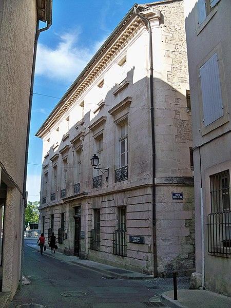 Photo du Monument Historique Immeuble ou hôtel Donadei de Campredon situé à Isle-sur-la-Sorgue (L')