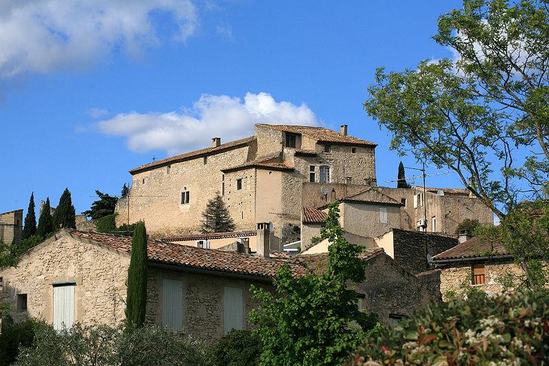 Photo du Monument Historique Château situé à Lagnes