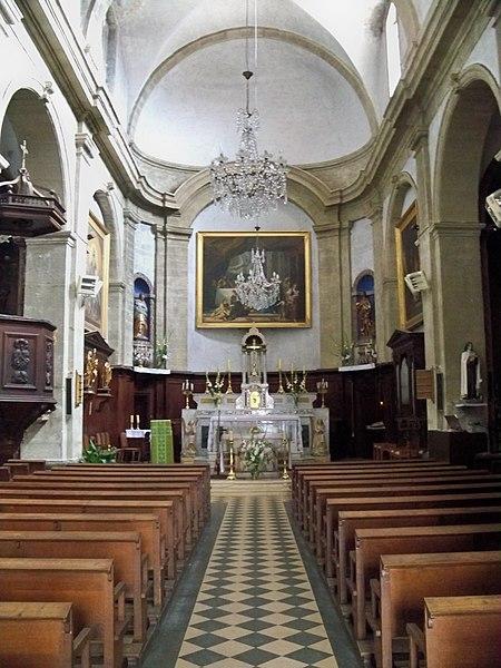 Photo du Monument Historique Eglise paroissiale Notre-Dame-de-la-Purification situé à Lauris