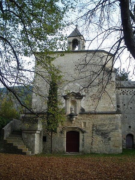 Photo du Monument Historique Chapelle Notre-Dame-du-Groseau situé à Malaucène
