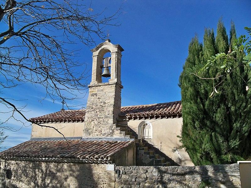 Photo du Monument Historique Chapelle des Pénitents Blancs situé à Mazan