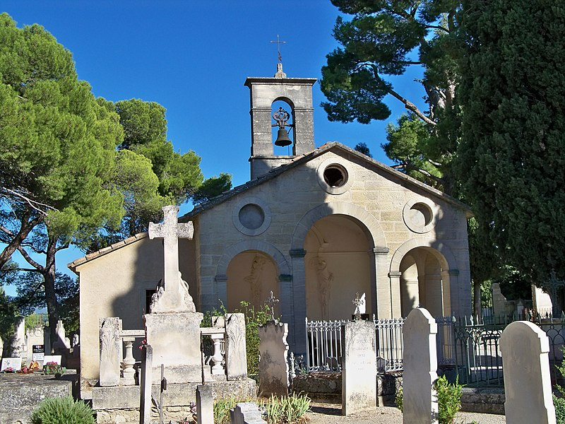 Photo du Monument Historique Cimetière et chapelle Notre-Dame de Pareloup situé à Mazan