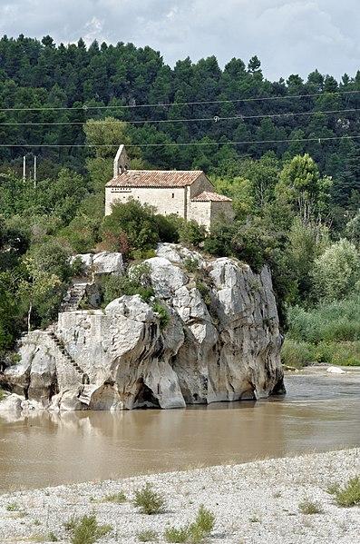 Photo du Monument Historique Chapelle Sainte-Madeleine situé à Mirabeau