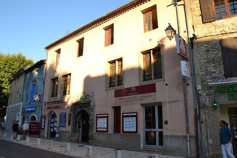 Photo du Monument Historique Maison situé à Orange