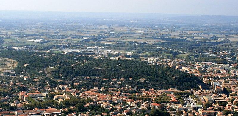 Photo du Monument Historique Colline Saint-Eutrope situé à Orange