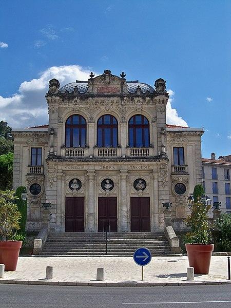 Photo du Monument Historique Théâtre municipal situé à Orange
