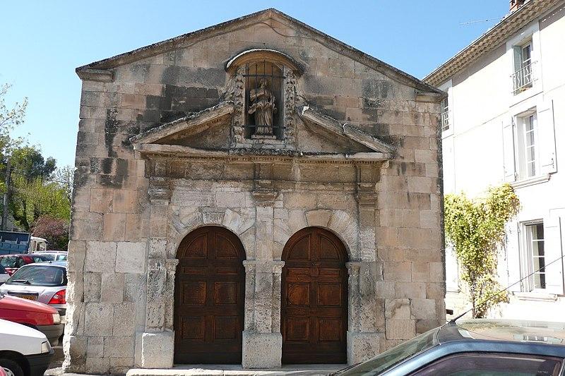 Photo du Monument Historique Chapelle Notre-Dame-de-la-Rose situé à Pernes-les-Fontaines