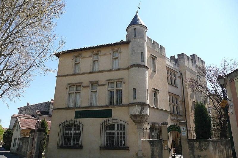 Photo du Monument Historique Hôtel d'Anselme situé à Pernes-les-Fontaines