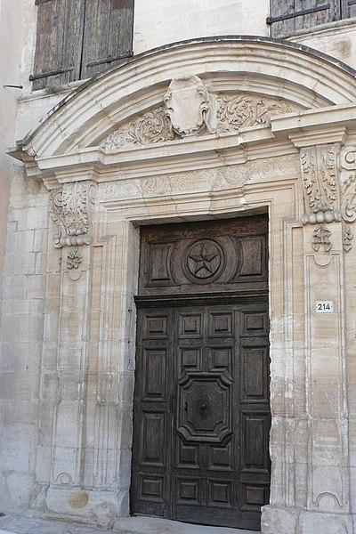 Photo du Monument Historique Hôtel de Jocas situé à Pernes-les-Fontaines