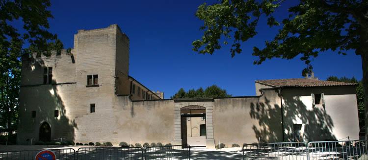 Photo du Monument Historique Château de Fargues situé à Le Pontet