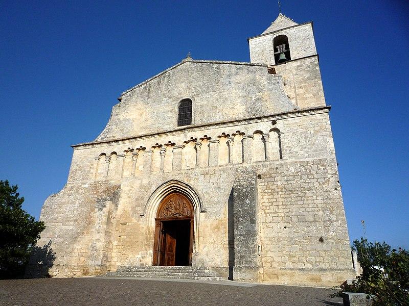 Photo du Monument Historique Eglise paroissiale Notre-Dame-de-Pitié situé à Saignon